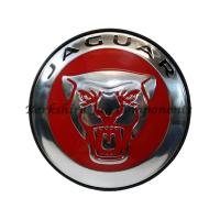 Alloy Wheel Badges Red and Silver C2D47107