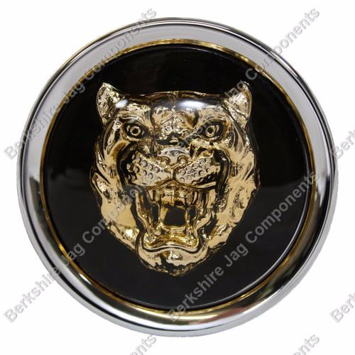 jaguar alloy wheel badge berkshire jag components. Black Bedroom Furniture Sets. Home Design Ideas