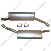 X300 Rear Exhaust Right & Left Hand NNA6784BC / NNA6785BC