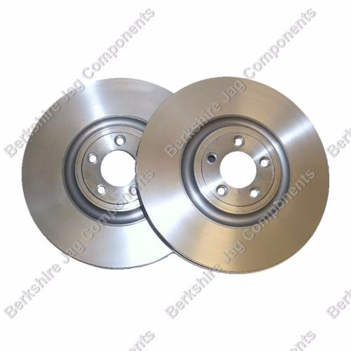 XF Front Brake Disc Vented 380mm C2P12622