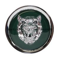 Alloy Wheel Badge Green and Silver MNA6249AB