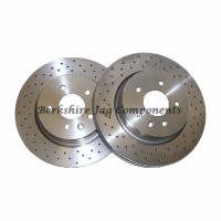 XKR Rear Brake Disc's 330mm JLM21748
