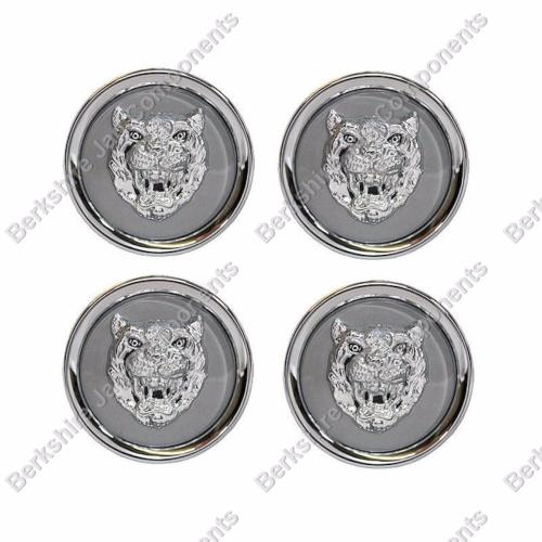 Alloy Wheel Badges Grey and Silver MNA6249GA-S