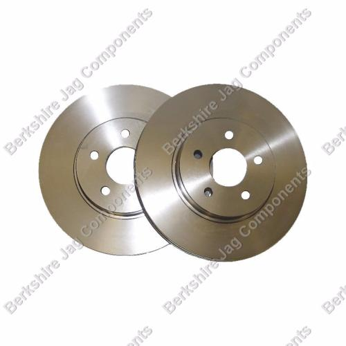X Type Rear Brake Disc's C2S49730