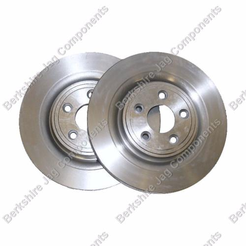 S Type Rear Brake Disc's 326mm C2D26352