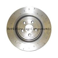 XK X150 Rear Brake Disc Left Hand Alcon 350mm Grooved C2P10563