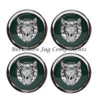 Alloy Wheel Badges Green and Silver MNA6249AB-S