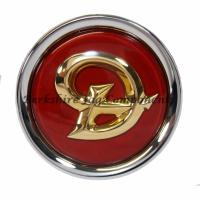Alloy Wheel Badges Daimler Red & Gold MNA6249DB
