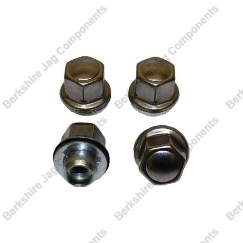 XJ8 Wheel Nuts Set Short Reach (set of 4) CCC7028S